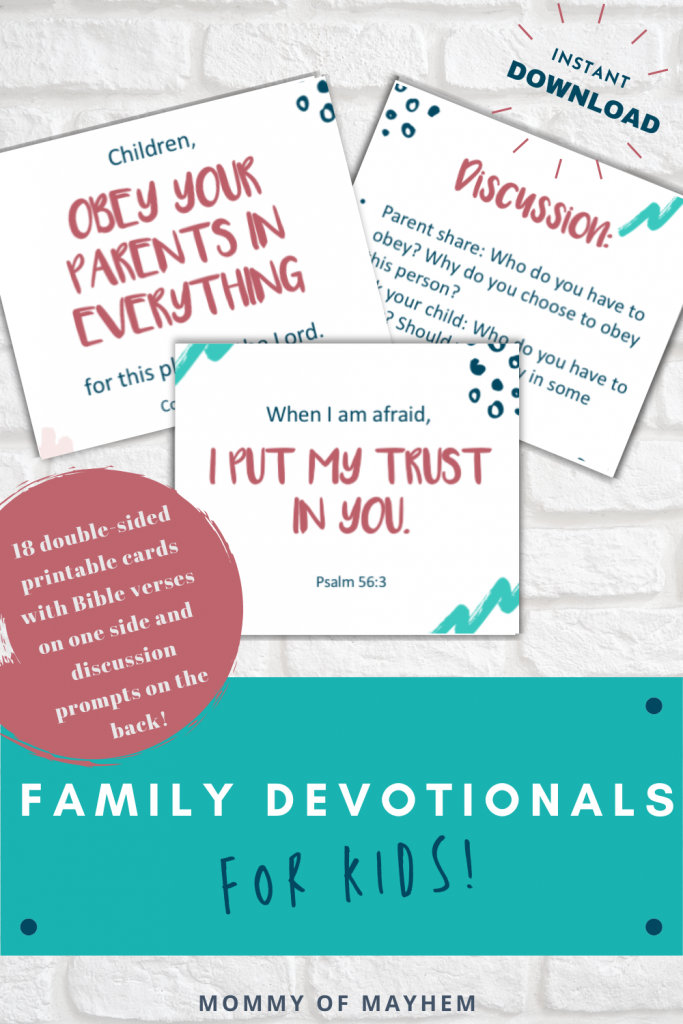 family devotionals for preschoolers