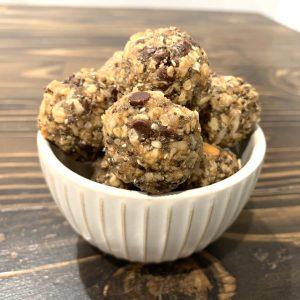Oat Quinoa Energy Bites