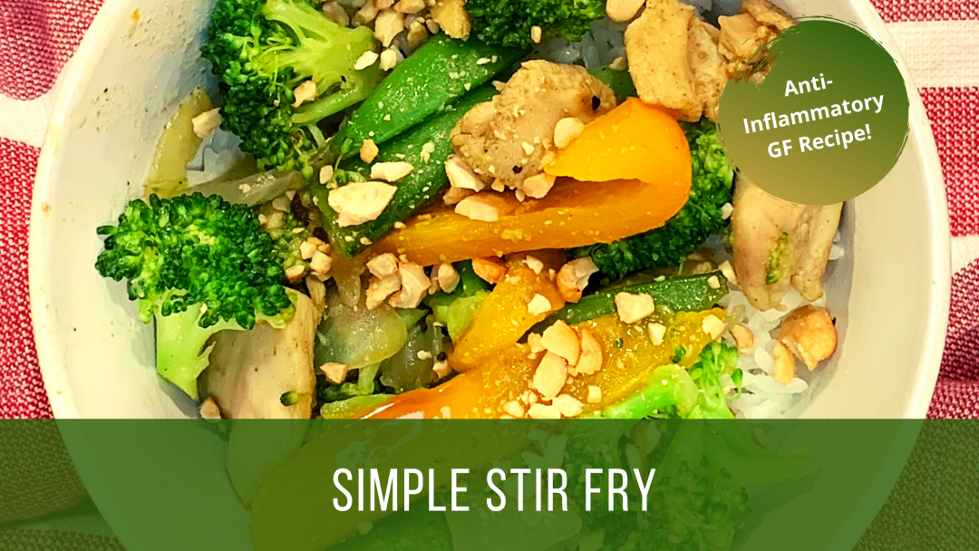 simple anti inflammatory stir fry