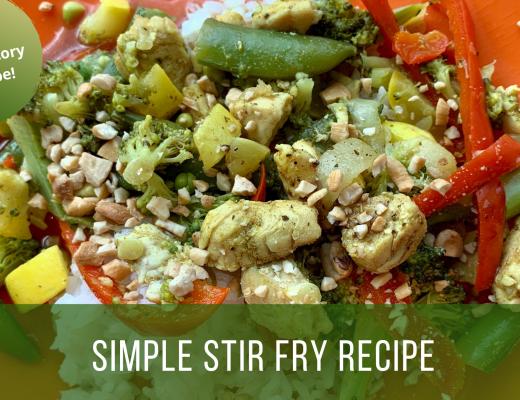 AID stir fry recipe